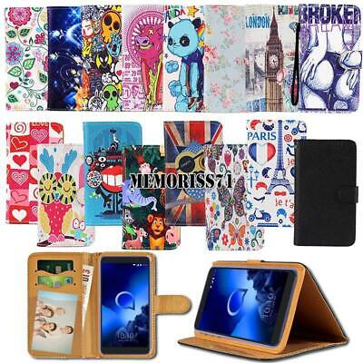 £3.99 • Buy For Alcatel 1/1C /1S /1X /3/Onyx  2019 Folio Leather Stand Wallet Cover Case