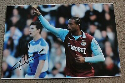 £4 • Buy FREDERIC PIQUIONNE (West Ham & Portsmouth FC) Hand SIGNED 12x8 Photo