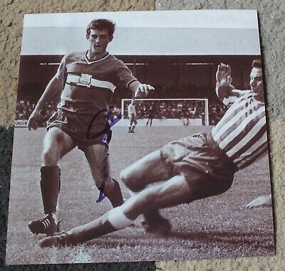 """NORMAN PIPER (Plymouth Argyle & Portsmouth FC) Hand SIGNED 8x8"""" Photo • 8.50£"""