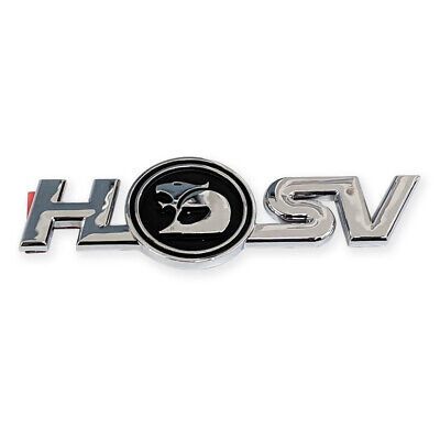 AU115 • Buy Genuine HSV Badge Boot Trunk HSV VT VX VU Clubsport GTS Maloo Senator Coupe