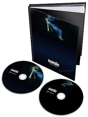 SUEDE CD + DVD Night Thoughts SPECIAL Edn Deluxe BOOK Numbered 00466 + Promo Sht • 29.95£