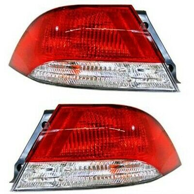 $109.17 • Buy Set Of 2 Tail Light For 2002-2003 Mitsubishi Lancer LS Sedan LH & RH