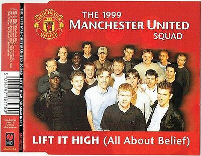 MANCHESTER UNITED SQUAD 1999 - 5 CD - Lift It High (All About Belief) + Red Hot  • 3.99£