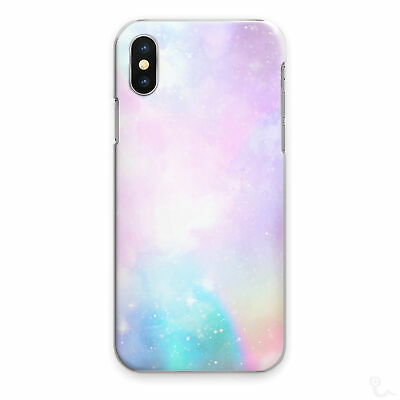 AU12.85 • Buy Galaxy Stars Phone Case Pastel Pink Blue Hard Cover For Apple Samsung Huawei
