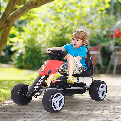 £38.99 • Buy Pedal Go Kart Kids Ride-on Car Safety Chain Outdoor Racer Bike Toy Gift