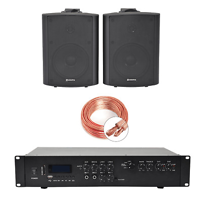 Inta Audio Home/Office Music System With 2 Wall Speakers • 185£