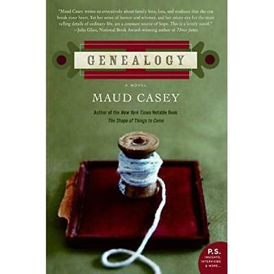 Genealogy - Paperback NEW Maud Casey 2006-05 • 13.44£