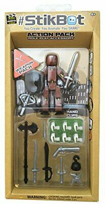 Zing Stikbot Weapons Action Pack Assortment • 14.99£