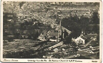 £14 • Buy Uxbridge From The Air. St Andrew's Church & RAF Cinema # 1646D By Airco.