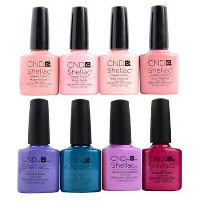 AU23.20 • Buy CND Shellac - Choose Your Color - A-Z - Top, Base Coat, DURAFORCE, XPRESS5