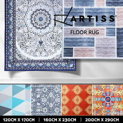 AU99.95 • Buy Artiss Floor Rugs Short Pile Area Rug Large Modern Classic Carpet Soft Bedroom