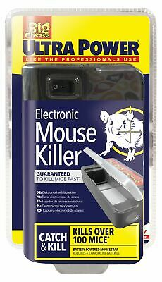 Ultra Power Electronic Electric Mouse Trap Rodent Killer Mice Zapper Trap • 22.99£