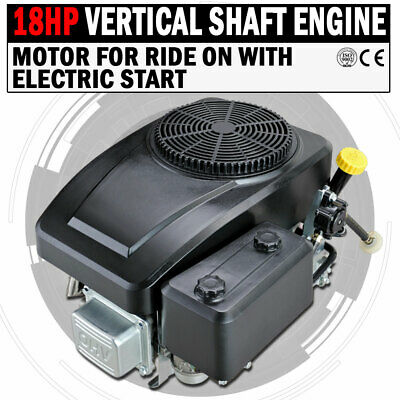 AU5700 • Buy NEW 18HP Vertical Shaft Petrol Engine Ride On Mower Motor With Electric Start