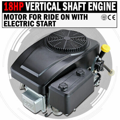 AU570 • Buy NEW 18HP Vertical Shaft Petrol Engine Ride On Mower Motor With Electric Start