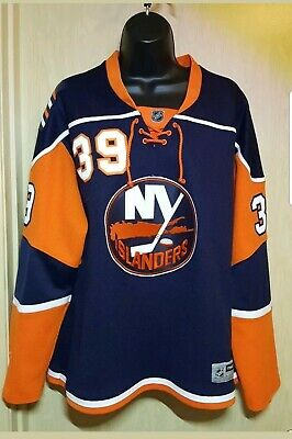 e4a8193ce5d New York Islanders #39 Rick Dipietro WOMEN'S XL NHL Official Reebok Fan  Jersey • 32.00