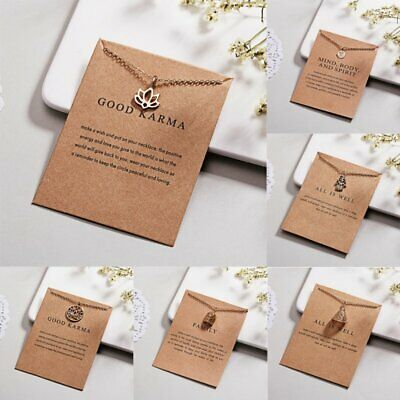 $ CDN1.54 • Buy Fashion Gold Lotus Flower Pendant Necklace Clavicle Chains Choker Card Jewelry