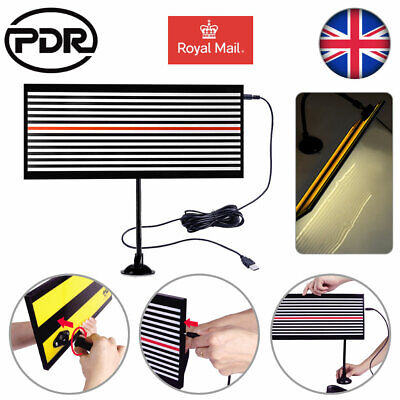 PDR Tools Paintless Dent Repair Auto Body LED Line Board Hail Doctor Removal Kit • 19.99£