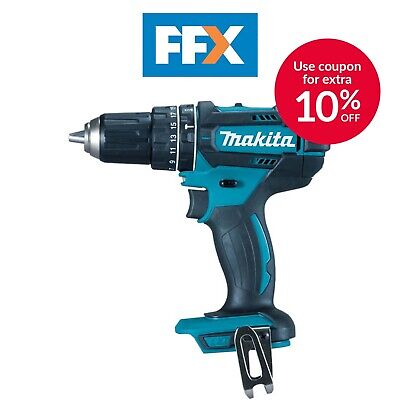 Makita DHP482Z 18V LXT Combi Hammer Driver Drill 2 Speed Bare Unit Body Only • 57.06£