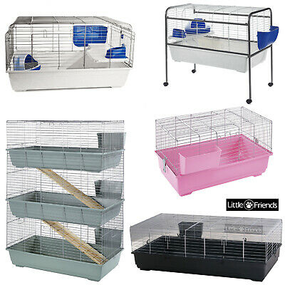 Indoor Rabbit Cages All Types Colours Levels Brand New - Small Pet Guinea Pig • 59.05£