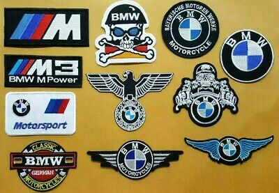 $3.13 • Buy BMW M POWER RACING MOTORCYCLE MOTOR SPORT CAR Embroidered Iron Sew On Patch Logo