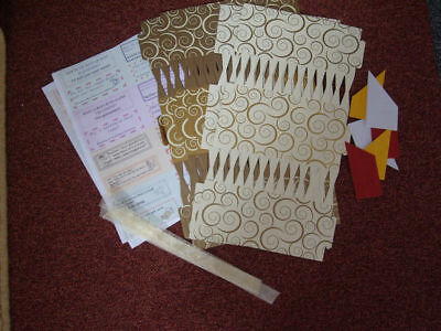 4 Or 8 14  Cream & Gold Make Fill Your Own Crackers Christmas Wedding Birthday • 7£