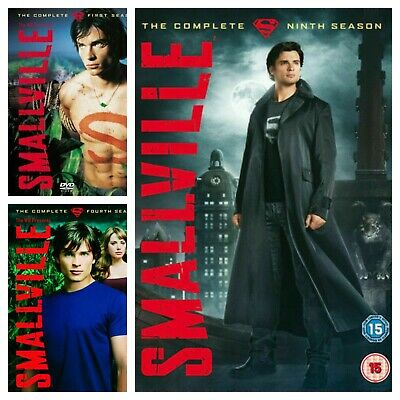 £7.81 • Buy Smallville Season 1 2 3 4 5 6 7 8 9 10 DVD Box Set Series Complete Collections