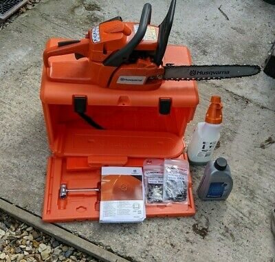 """View Details Husqvarna 236 14"""" Chainsaw - Use Once, In Case • 67.00£"""