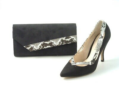 Ladies Bridal Occasion Shoes Stiletto Low Kitten Heel Sizes - Handbags Available • 25£