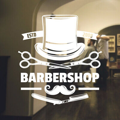 $ CDN34.18 • Buy  Barber Shop Wall Sticker Hipster Beard Graphics Quote Decal Art Bb31