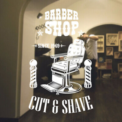 $ CDN34.18 • Buy  Barber Shop Wall Sticker Hipster Beard Graphics Quote Decal Art Bb47