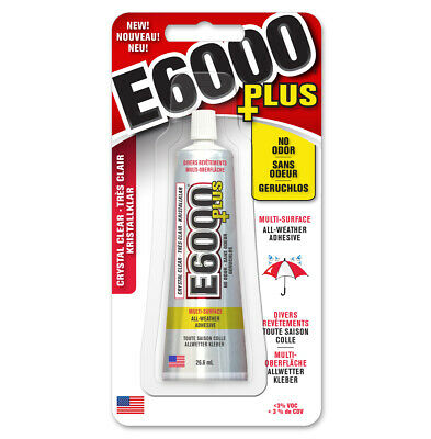 £8.78 • Buy E6000 PLUS Multi Surface - No Odour Industrial Strength Adhesive Glue Clear 26ml