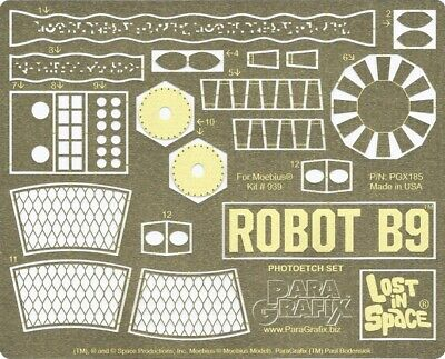 AU45.91 • Buy Lost In Space - B9 Robot Photoetch Set - 1/6 Scale - PGX185