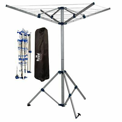 Royal Portable Aluminium Clothes Line Camping Caravan Washing  Airer Dryer • 34.75£