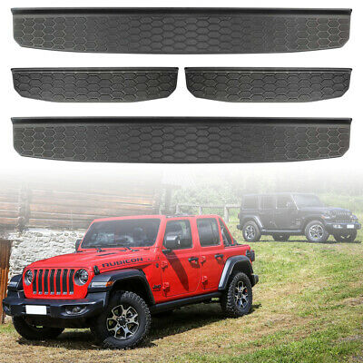 4 Door Entry Guards Sill Guards For 2018 2019 2020 Jeep Wrangler JL Accessories • 24.99$