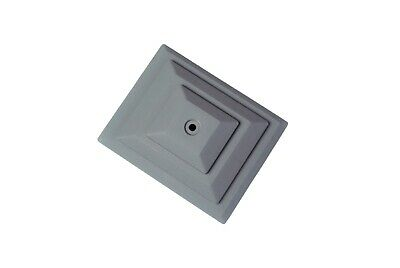 £10.95 • Buy Fence Post Caps, GREY Pack Of 10 For 4 X3  Post. PLASTIC, UK Made. GT0054