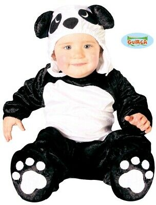Baby & Toddler Panda Fancy Dress Costume Childrens Childs Animal Suit New Fg • 10.99£