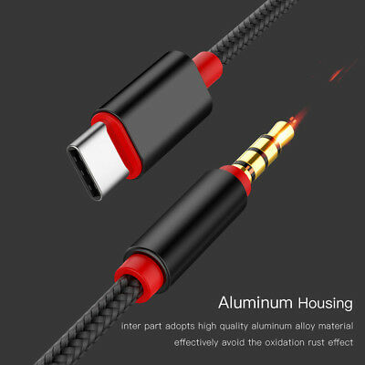 $1.31 • Buy Type-c To 3.5mm Jack Male Audio Aux Cable Male To USB-C Stereo Adapter Connector