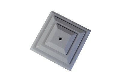 £10.95 • Buy Fence Post Caps, GREY Pack Of 10 For 4 X4 (100mm) Post. PLASTIC, UK Made. GT0049