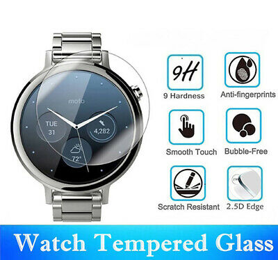 £2.99 • Buy Round Smart Watch Tempered Glass Screen Protector Film For Samsung Huawei Garmin