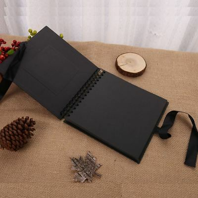 AU17.99 • Buy Scrapbook Album 80 Pages Craft Photo Album DIY For Wedding Valentines Graduated