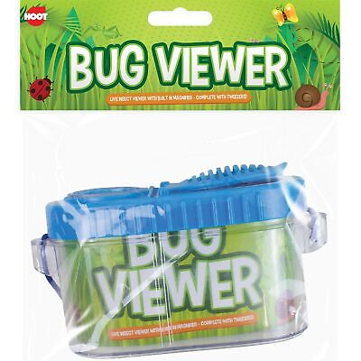 £5.27 • Buy Childrens Bug Insect Keeper & Viewer Magnifier & Tweezers Educational Outdoors