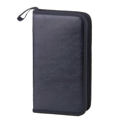 AU12.73 • Buy 80 DVD CD DISC Holder Album Storage Case Folder Wallet Carry Bag Organizer Box