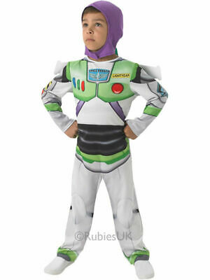£11.99 • Buy Child Licensed Buzz Lightyear Toy Story Outfit New Fancy Dress Costume Boys