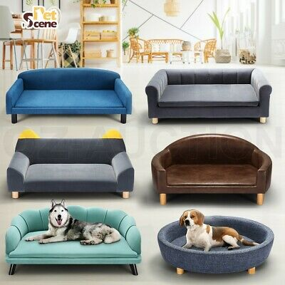 AU159.95 • Buy Petscene Pet Bed Dog Cat Bed Sofa Couch Cushion Puppy Lounge