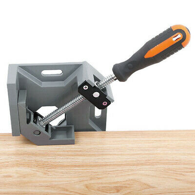 $16.52 • Buy 90 Degree Right Angle Two Axis Welding Clamp Aluminum Alloy Woodworking Tools