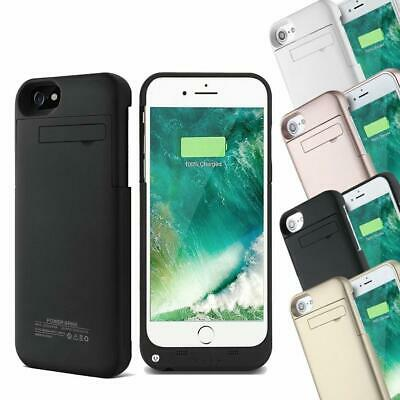 AU22.79 • Buy External Battery Charger Power Bank Case For IPhone 6S 6 7 & 8 Plus Backup Cover