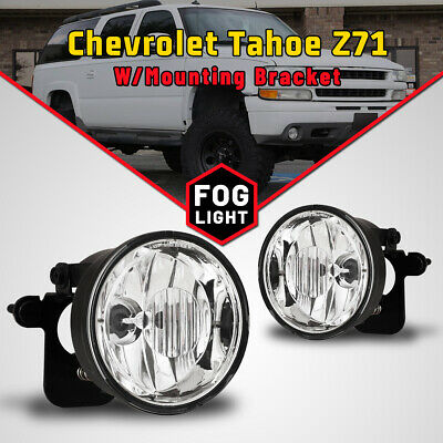 $43.59 • Buy Fog Lights For 04-06 Chevy Suburban 1500/ 00-06 Tahoe Z71 Clear Replacement Pair