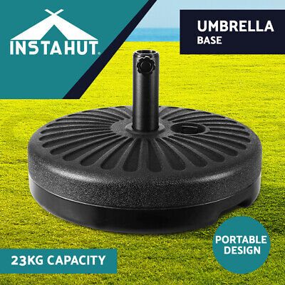 AU45.90 • Buy Instahut Outdoor Umbrella 3M Stand Base Pod Sand/Water Patio Cantilever