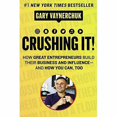 AU59.53 • Buy Crushing It!: How Great Entrepreneurs Build Their Busin - Hardback NEW Vaynerchu