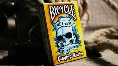 Bicycle Club Tattoo | Orange | Playing Cards | Poker Deck | Collectable • 8.30£